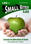 Life in Small Bites 3.03 - Lessons in Education