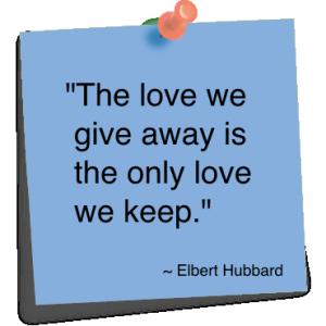 Love Giving Away