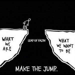 Courage - Leap of Faith