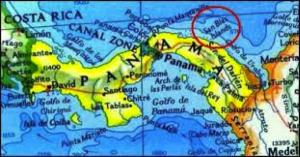 Map San Blas